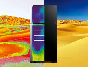 Side By Side е луксозната серия на хладилници Hitachi.